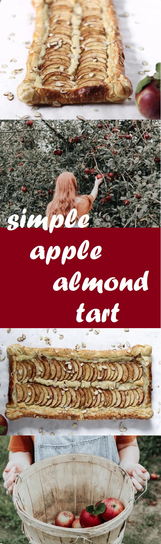 simple apple almond tart apple picking jones orchard tennessee puff pastry