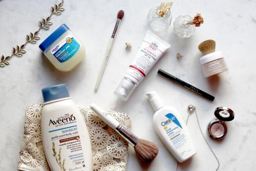 Dermatologist dermatology favorite beauty products vaseline cerave aveeno l'oreal elta urban decay stila